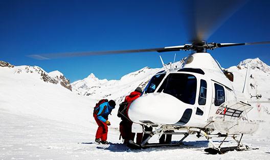 skiexclusief heli skiing sneeuwfun